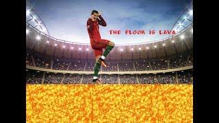 Cristiano Ronaldo ● Skills, Tricks.  The floor is lava!!