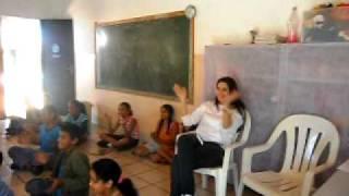 Apresentação das Crianças do Projeto Espaço Amigo de Presidente Bernardes
