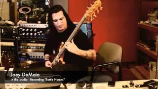 "Joey DeMaio recording ""Battle Hymn""!!!"