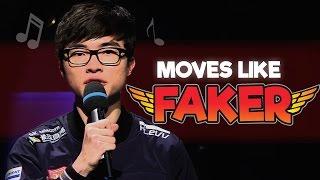 Instalok - Moves Like Faker (Maroon 5 - Moves Like Jagger ft. Christina Aguilera PARODY)