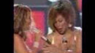 Beyonce & Tina Turner (Beyonce Stepped on Tina's Foot)