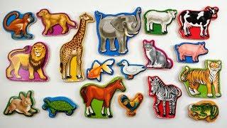 Aprender os Nomes dos Animais | Como Ensinar os Nomes dos Bichos para as Crianças | Brink & Aprenda