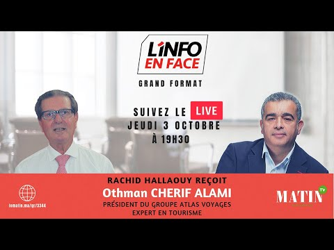 Video : L'info en Face avec Othman Cherif Alami