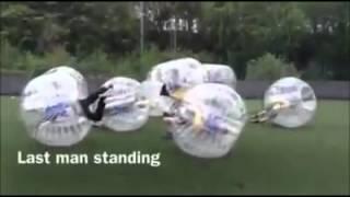 Zorb Football Big Hits