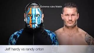 Jeff Hardy vs Randy Orton ¡figure Match!