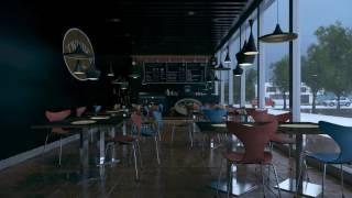 making of cafe (3D)