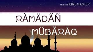 Ramzan Mubarak || Ramzan Ishq Hai || Whatsapp Status 2018 width=