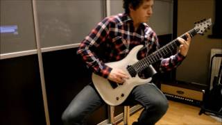 Schecter KM7 - Nevermore - Obsidian Conspiracy part