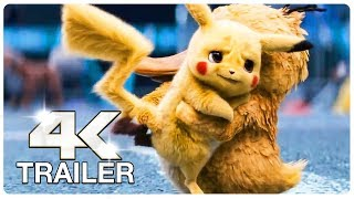 POKEMON Detective Pikachu : 11 Minute Clips + Trailers (4K ULTRA HD) NEW 2019
