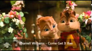 Pharrell Williams feat. Miley Cyrus - Come Get It Bae (Version Chipmunks)
