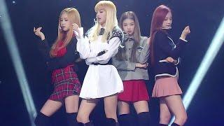 《EXCITING》 BLACKPINK (블랙핑크) - PLAYING WITH FIRE (불장난) @인기가요 Inkigayo 20161127 width=