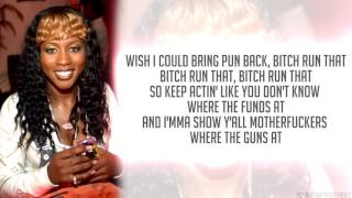 Remy Ma - Ante Up (Remix - Verse) [Lyrics - Video]