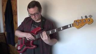 Phil Collins - 'Another Day In Paradise' bass loop cover - Nick Latham