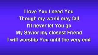 Jesus Lover of My Soul (worship video w/ lyrics)