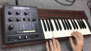 Korg M500 Micro Preset - Synthesizer Demo - MIDIVERSE - TV