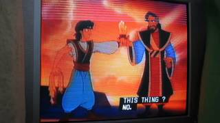 Aladdin and the King of Thieves emotional climax scene