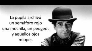 Donde habita el olvido - Joaquin Sabina  (Letra)
