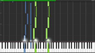 Moonlight Sonata 2nd Movement - Opus 27 No. 2 [Piano Tutorial] (Synthesia)