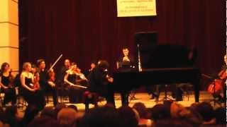 Alexander Korsantia  plays Shostakovich concert for  piano and trumpet (Final fragment)
