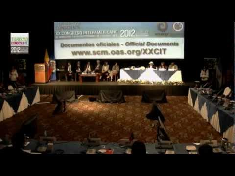 Turismo Consciente 2012,Ecuador,5ta dialogo,Turismo Sostenible,OEA