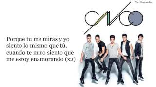 "CNCO ""Tan Fácil""   Lyrics"