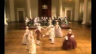 Baroque dance on  Water Music  G F  Handel