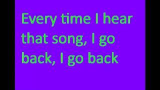 Kenny Chesney I go back lyrics
