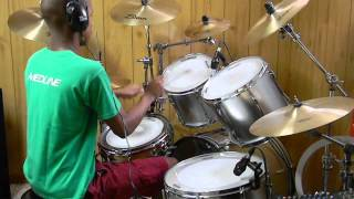 Drum Cover: Black Skinhead - Kanye West (Yeezus) @drums0n