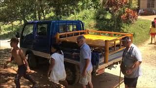 BUYING BAMBOO BED FIRST FURNITURE OF THE HUSKING BLIND CHILD SARA