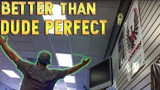 PERFECT WATER BOTTLE FLIP | better than dude perfect?