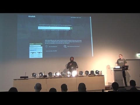 Airsoftdb presentation at Airsoft Meetup IWA 2017