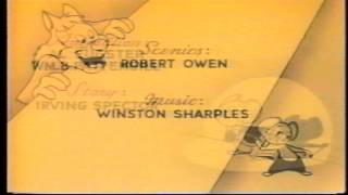 Herman e Katnip - Desenho. 1ª dublagem da Telecine. 9 episódios - 1 DVD