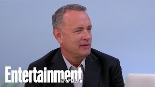 Tom Hanks Asked Steve Martin For Advice On His First Book, 'Uncommon Type' | Entertainment Weekly