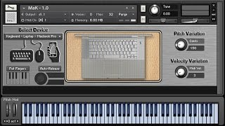 MaK (Mouse and Keyboard) - Kontakt Sound Effects Library - Collected Transients