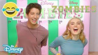 Z-O-M-B-I-E-S   Brain Food Challenge #1 🧠🍽  Official Disney Channel UK
