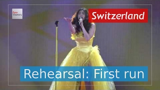 Timebelle - Apollo - Switzerland - Live - Full Rehearsal - Eurovision Song Contest 2017 (4K)