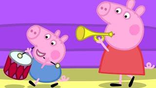 Peppa Pig e George Pig em portugues brincando de esconde esconde  2015 Brinquedos de Massinha