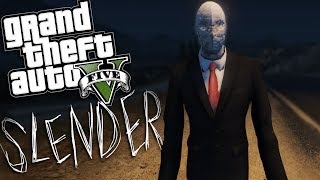 GTA 5 Mods - THE SLENDER MAN MOD (GTA 5 PC Mods Gameplay)