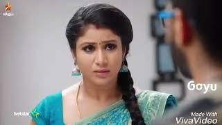 Semba karthik love status /raja rani serial cute love Whatsapp  status width=