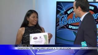Griselda Díaz es la ganadora del concurso