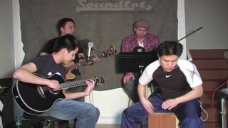 B.O.B and Bruno Mars - Nothing On You - Acoustic Cover / Remix - RYC & The Soundlot Kids