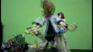 Sora vs Roxas stop-motion
