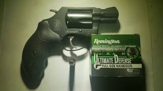 Remington Ultimate Defense 38 Special +P 125gr Gel Test