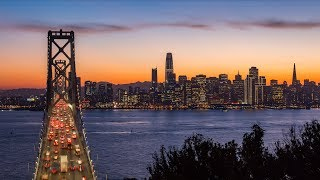San Francisco Skyline - 4K Timelapse