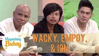 Empoy, Ion, and Wacky give advice to bullied people like them | Magandang Buhay