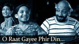 O Raat Gayi - Boot Polish (1954) - David - Ratan Kumar - Baby Naaz width=