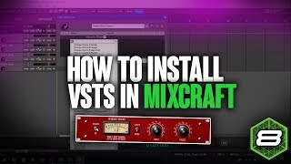 How to install vsts in mixcraft 8 videos / InfiniTube