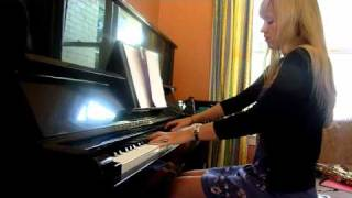 Lara plays Silence Before the Storm, Final Fantasy X on piano