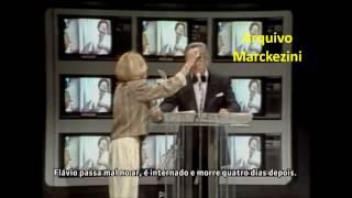 Programa Flávio Cavalcanti - Trecho do último programa (1986)