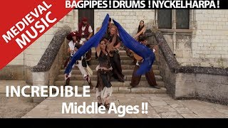 Medieval music ! Trip to the middle ages ? Nyckelharpa,Drums,bagpipes and Guitar